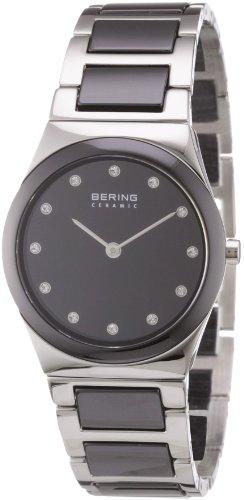 BERING Damen-Armbanduhr Analog Quarz Edelstahl 32230-742