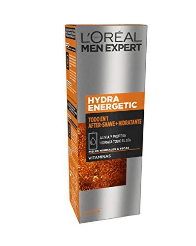 L'Oreal Paris Men Expert Hydra Energetic Ultra-feuchtigkeitsspendendes Gel gegen Müdigkeit, 50 ml weiß