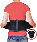 AidBrace Back Brace for Lower Back Pain Relief for Men &...