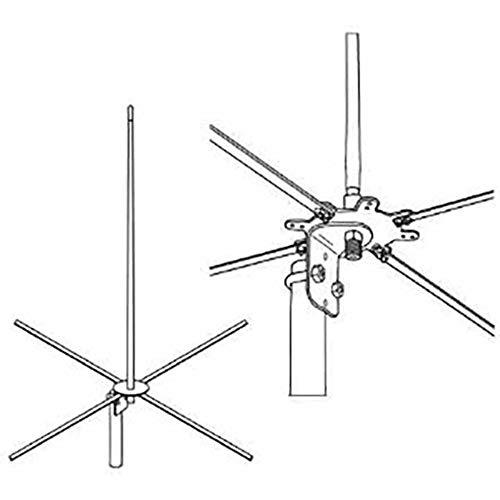 Firestik 2MCKB 4 Ft -122 Cm 2-Meter Base Antenna