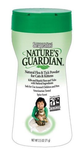 Nature's Guardian Powder, For Cats & Kittens, 2.5-Ounce (Pack of 4)