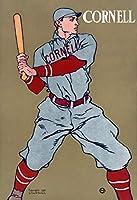 Edward Penfield ジクレー 紙に印刷-有名な絵画 美術品 ポスター-再生 壁の装飾(コーネル野球) #XZZ