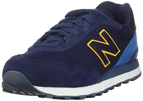 New Balance 515v1, Zapatillas Deportivas. Hombre, Pigmento Azul mako Varsity Oro, 42 EU