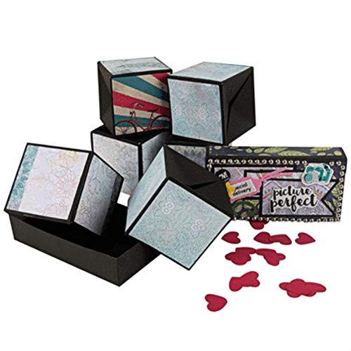 Yhtumn Novelty Jumping Box Scrapbook DIY fotoalbum voor Valentijnsdag verjaardag verjaardag