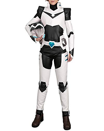 Cosplay.fm Men's Armor Costume Shiro Lance Pidge Hunk Cosplay Suit Outfit with Hat