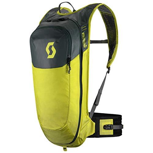 Scott Trail Protect Airflex FR\' 10 Fahrrad Rucksack gelb/grün