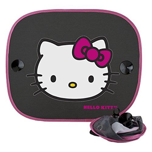 Hello Kitty KIT3014 Auto-Sonnen-Schutz und Sonnen-Blende für Baby und Kinder, 2 Stück