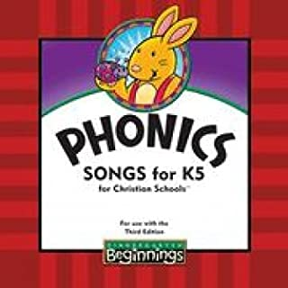 BJU K5 Beginnings Phonics Songs CD