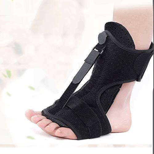 Yseng Orthopädische Fußstütze, Fußstütze, verstellbare elastische Fußschiene, Linderung von Fersenschmerzen, für Damen und Herren