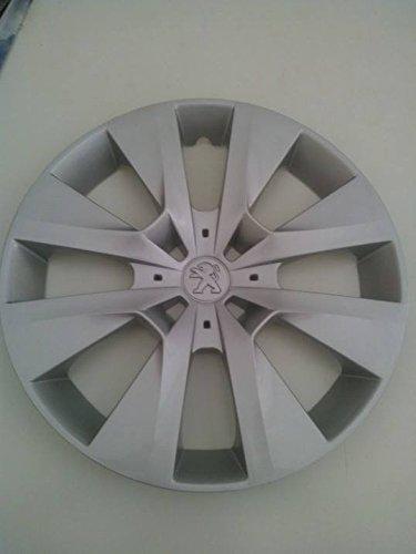 Lot de 4 Enjoliveurs Enjoliveur Boutons Clous de voiture Coupes Rivets Roue Peugeot 208 r 15 depuis 2012 (Sc 808)