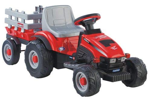 Peg Perego Case IH Little Tractor and...