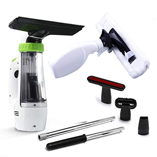 LOEROY Aspirador de Ventanas, Aspirador limpiacristales para Ventanas, Azulejos, Espejos y duchas, Juego de Limpieza de Ventanas 220V