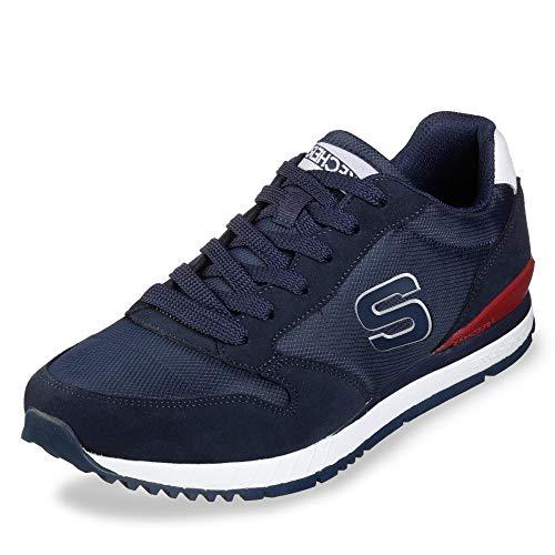 Skechers 52384-NVY_40, Sneakers Uomo, Blu Navy, EU