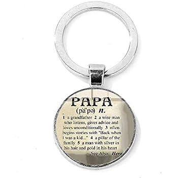 WAY2BB Porte-cl/és Super Papa id/ée Cadeau pour Les Papas