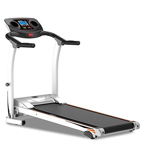 Canmalchi - Cinta de correr eléctrica plegable con sistema de emergencia, ejercicio con inclinación regulable, 1,5 CV, cardio, soporte para botellas