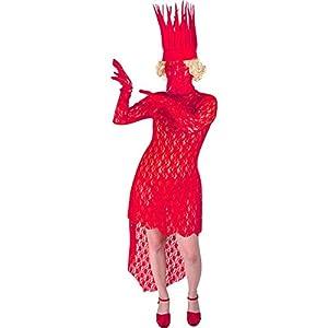 Bad Romance Red Lady Costume