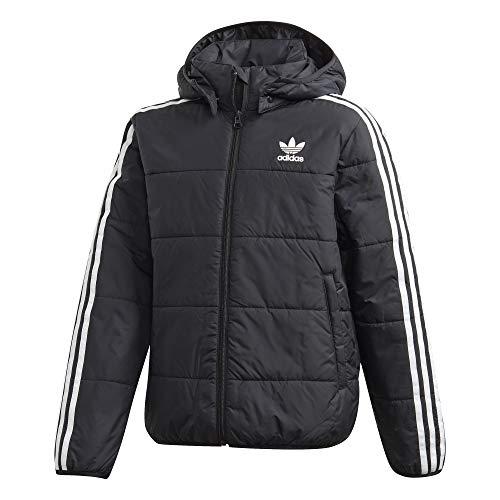 adidas Kinder PADDED JACKET Sport, black/White, 140