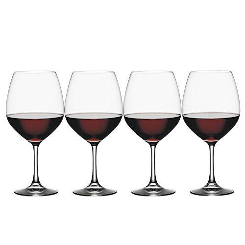 Spiegelau Vino Grande Vino Tinto-Balón, Set de 4, Vaso Vino