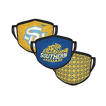 LasGo 3pcs/lot Face Cover for University Basketball/Football Fans Washable Luxury Face Scarf Adjustable Bandanas Unisex