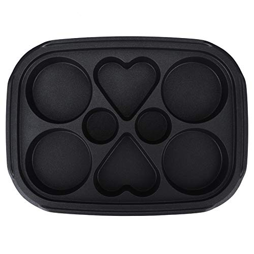 Baking Sheet, Professional Food Grade Cookie Sheet, Barbecue Home Kitchen Hot Pot for Takoyaki(Multi-function disk)