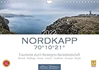 Nordkapp - Norwegens Kuestenlandschaft (Wandkalender 2022 DIN A4 quer): 12 eindrucksvolle Motive von Norwegens Kuestenstaedte und Landschaften. (Monatskalender, 14 Seiten )