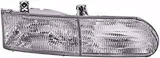 BuyRVlights Forest River Windsong 1998-2001 RV Motorhome Right (Passenger) Replacement Headlight Head Light Front Lamp