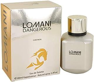 Lomani Dangerous Cologne Eau de Toilette For Men, 100ml