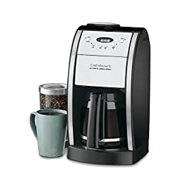 Cuisinart DGB-550BK Best Bean to Cup Coffee Machine under $100 for 2020