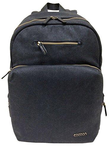 Cocoon URBAN ADVENTURE - Laptop Rucksack mit besonderem Organisationssystem / Praktischer Backpack für Laptops / Daypack / Rucksack für Tablet, Laptop / 2 Reißverschlussfächer / Schwarz - 16