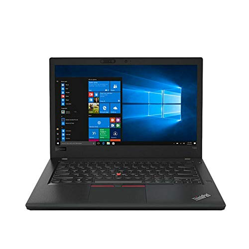 Lenovo ThinkPad T480 35,6 cm (14 Zoll) Full HD Notebook Intel Core i5-8250U Prozessor, 8 GB RAM, 256 GB SSD, Windows 10 Pro, Schwarz