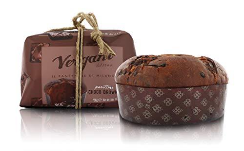 Vergani Panettone Gusto Brownie, al Cioccolato, Gourmet - 750g