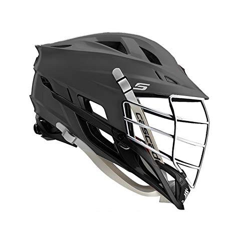 Amazon Cascade S Lacrosse Helmet Customizable-Matte Grey-Chrome Facemask