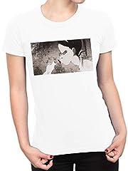 Disney Camiseta para Mujer Tiana y el Sapo