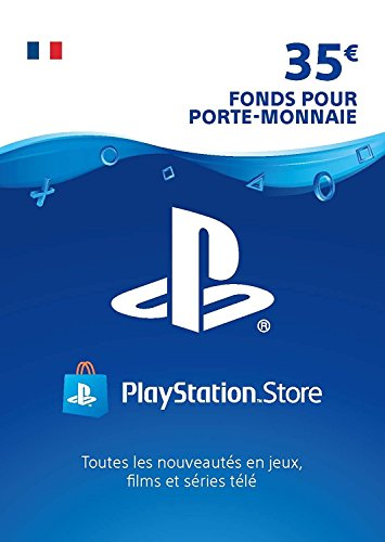 Carte PSN 35 EUR   Compte français   Code de téléchargement (PS5/PS4/PS3)