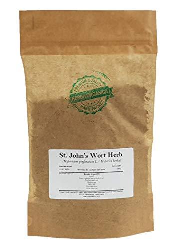 Echte Johanniskraut / Hypericum Perforatum L / St. John's Wort Herb # Herba Organica # Tüpfel-Johanniskraut, Tüpfel-Hartheu (100g)