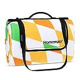 Homemaxs Picknickdecke 200x200 cm Wasserdicht und Tragbar Extra Große Faltbare