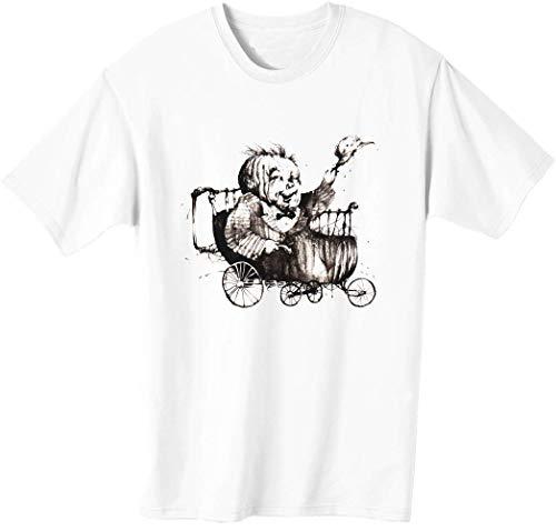 Camiseta de hombre con cabeza de calabaza bnft