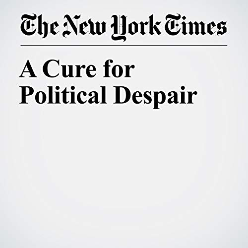 A Cure for Political Despair audiobook cover art