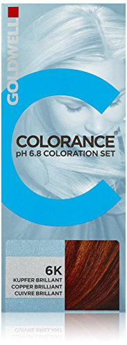 Goldwell Colorance pH 6,8 Colorations Set 6K, kupfer brillant, 1er Pack, (1x 90 ml)