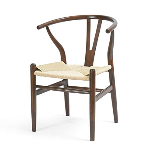 YQQ-Faules Sofa Massivholzstuhl Sessel Kaffeehaus Sessel Moderner Minimalistischer Stuhl Balkonstuhl Lounge-Sessel 48 X 46 X 75,5 cm (Color : B)