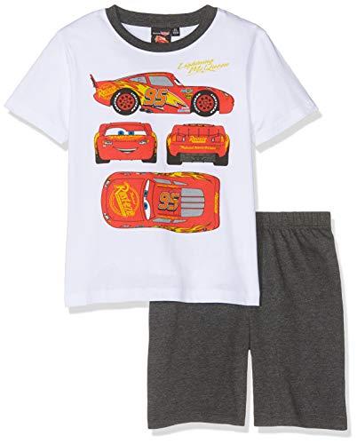 Disney Cars 5732 Pijama, Blanco (Blanc Blanc), 4 años para Niños