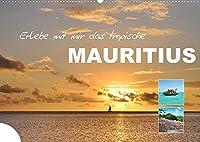 Erlebe mit mir das tropische Mauritius (Wandkalender 2022 DIN A2 quer): Afrikas Paradies im indischen Ozean (Monatskalender, 14 Seiten )