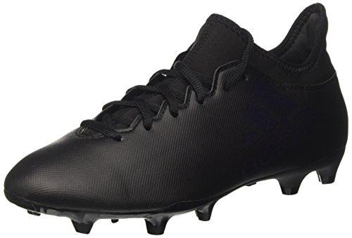 adidas X 17.3 Fg, Scarpe da Calcio Uomo, Nero Core Utility Black, 40 EU