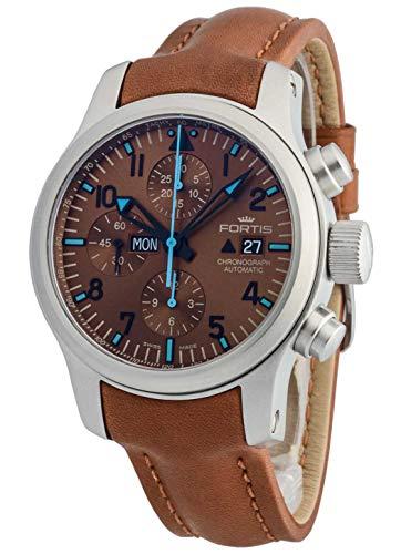 Fortis Herren-Armbanduhr B-42 Blue Horizon Chronograph Datum Wochentag Analog Automatik -Limited Edition- 656.10.95 L.28