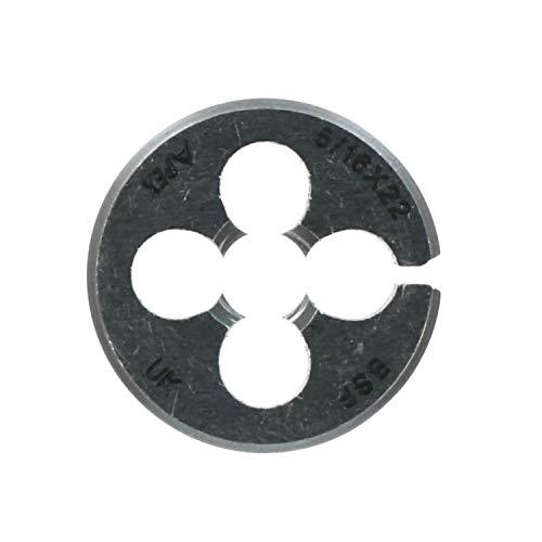 5/16' x 22 BSF 25mm Filiera circolare 1' in acciaio al carbonio Tagliafilo BSF