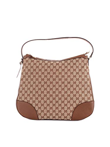 Luxury Fashion | Gucci Dames 44924473K3J1210 Bruin Leer Schoudertassen | Seizoen Permanent