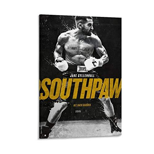 DRAGON VINES Poster Southpaw Boxer Violence Billy Hope Kunstdruck, 20 x 30 cm