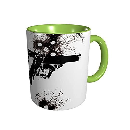jianpanxia James Bond 007 Neuartige Keramik-Kaffeetassen, hitzebeständiger klassischer gebogener Tassengriff Kaffeetasse Geschenk für Familie, Freunde und Liebhaber.