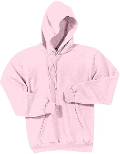 Joe's USA Hoodies Soft & Cozy Hooded Sweatshirt,Small Pale Pink