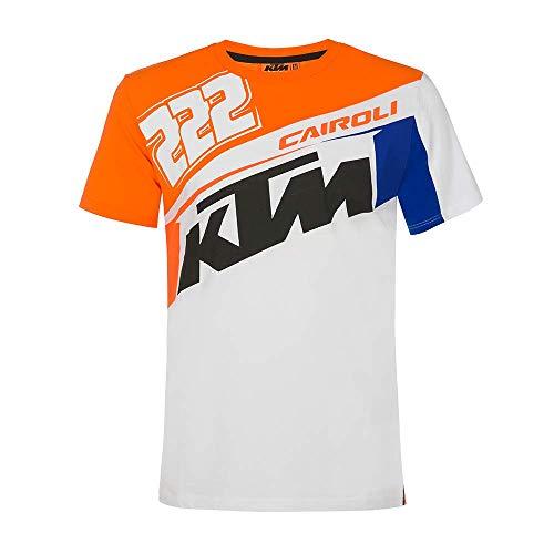 Vr46 Cairoli-KTM, Tshirt Uomo, Arancione, S